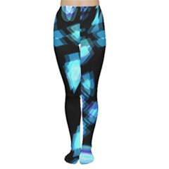 Blue light Women s Tights