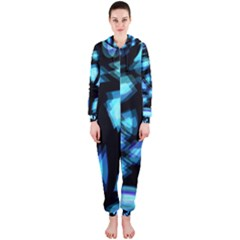 Blue light Hooded Jumpsuit (Ladies)
