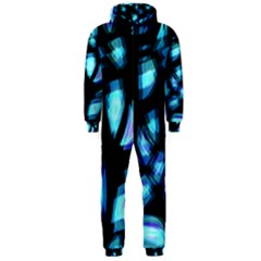 Blue light Hooded Jumpsuit (Men)