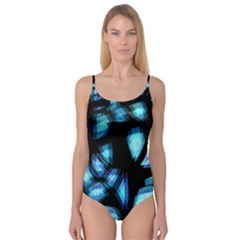 Blue light Camisole Leotard