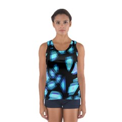 Blue light Women s Sport Tank Top