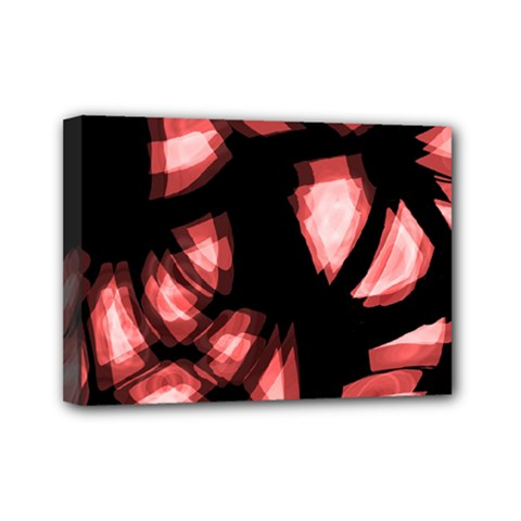 Red Light Mini Canvas 7  X 5  by Valentinaart