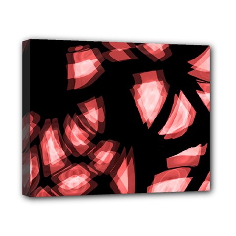 Red Light Canvas 10  X 8  by Valentinaart