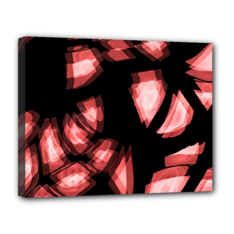 Red Light Canvas 14  X 11  by Valentinaart
