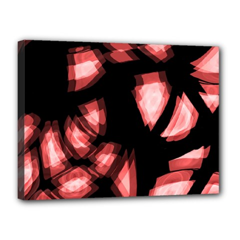 Red Light Canvas 16  X 12  by Valentinaart
