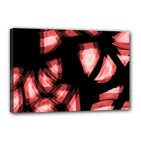 Red Light Canvas 18  X 12  by Valentinaart
