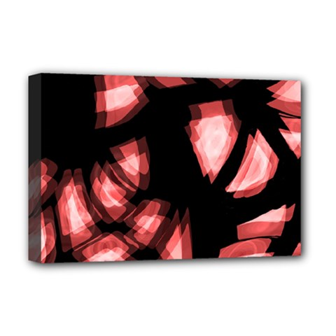 Red Light Deluxe Canvas 18  X 12   by Valentinaart