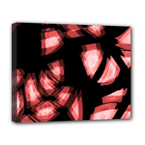 Red Light Deluxe Canvas 20  X 16   by Valentinaart