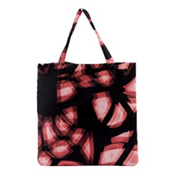 Red Light Grocery Tote Bag by Valentinaart