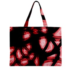 Red Light Zipper Mini Tote Bag by Valentinaart