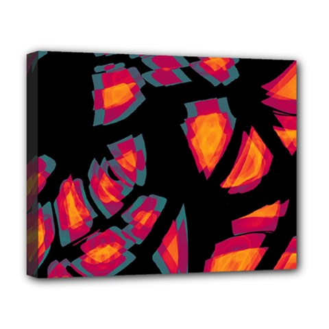 Hot, Hot, Hot Deluxe Canvas 20  X 16   by Valentinaart