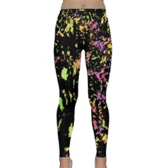 Good Mood Yoga Leggings  by Valentinaart