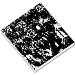 Black And White Miracle Small Memo Pads by Valentinaart