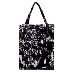 Black And White Miracle Classic Tote Bag by Valentinaart