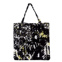 Little Bit Of Yellow Grocery Tote Bag by Valentinaart