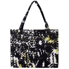 Little Bit Of Yellow Mini Tote Bag by Valentinaart