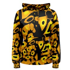 Yellow Design Women s Pullover Hoodie