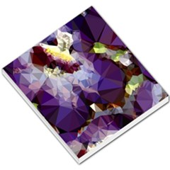 Purple Abstract Geometric Dream Small Memo Pads by DanaeStudio