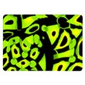 Green neon abstraction Samsung Galaxy Tab 10.1  P7500 Flip Case View1