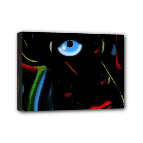 Black Magic Woman Mini Canvas 7  X 5  by Valentinaart