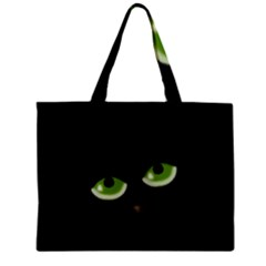 Halloween   Back Cat Mini Tote Bag by Valentinaart