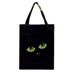 Halloween   Back Cat Classic Tote Bag by Valentinaart