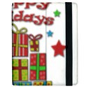 Happy Holidays - gifts and stars Apple iPad Mini Flip Case View2
