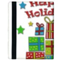 Happy Holidays - gifts and stars Apple iPad Mini Flip Case View3