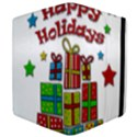 Happy Holidays - gifts and stars Apple iPad Mini Flip Case View4