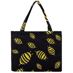 Decorative Bees Mini Tote Bag by Valentinaart