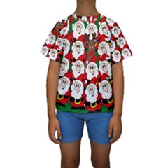 Did You See Rudolph? Kids  Short Sleeve Swimwear by Valentinaart