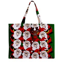 Did You See Rudolph? Zipper Mini Tote Bag by Valentinaart