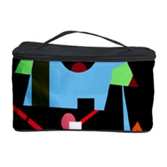 Abstract Composition  Cosmetic Storage Case by Valentinaart