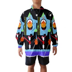 Abstract Composition  Wind Breaker (kids)