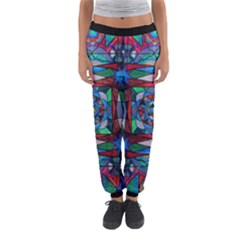 Sense Of Security - Women s Jogger Sweatpants by tealswan