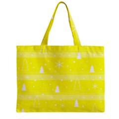 Yellow Xmas Mini Tote Bag