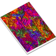 Hot Liquid Abstract B  Large Memo Pads