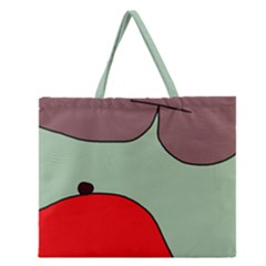 Nature Zipper Large Tote Bag by Valentinaart