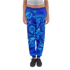 Arcturian Calming Grid - Women s Jogger Sweatpants by tealswan