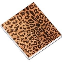 Leopard Print Animal Print Backdrop Small Memo Pads by AnjaniArt