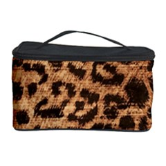Leopard Print Animal Print Backdrop Cosmetic Storage Case