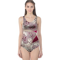 Morocco Motif Pattern Travel One Piece Swimsuit