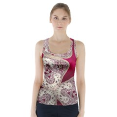 Morocco Motif Pattern Travel Racer Back Sports Top