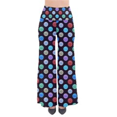 Death Star Polka Dots In Multicolour Pants by fashionnarwhal