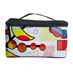 Happy Day Cosmetic Storage Case by Valentinaart