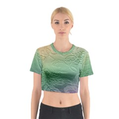 Plants Nature Botanical Botany Cotton Crop Top by AnjaniArt