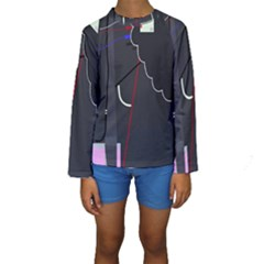 Plug In Kids  Long Sleeve Swimwear