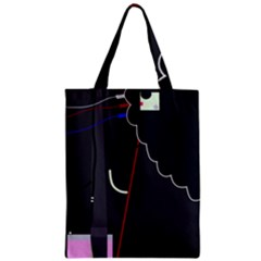 Plug In Zipper Classic Tote Bag by Valentinaart