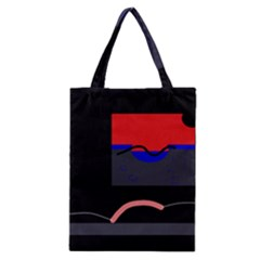 Geometrical Abstraction Classic Tote Bag by Valentinaart