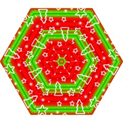 Christmas Pattern Mini Folding Umbrellas by Valentinaart